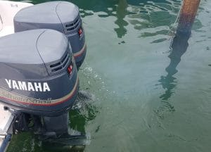 Why outboard engines smoke