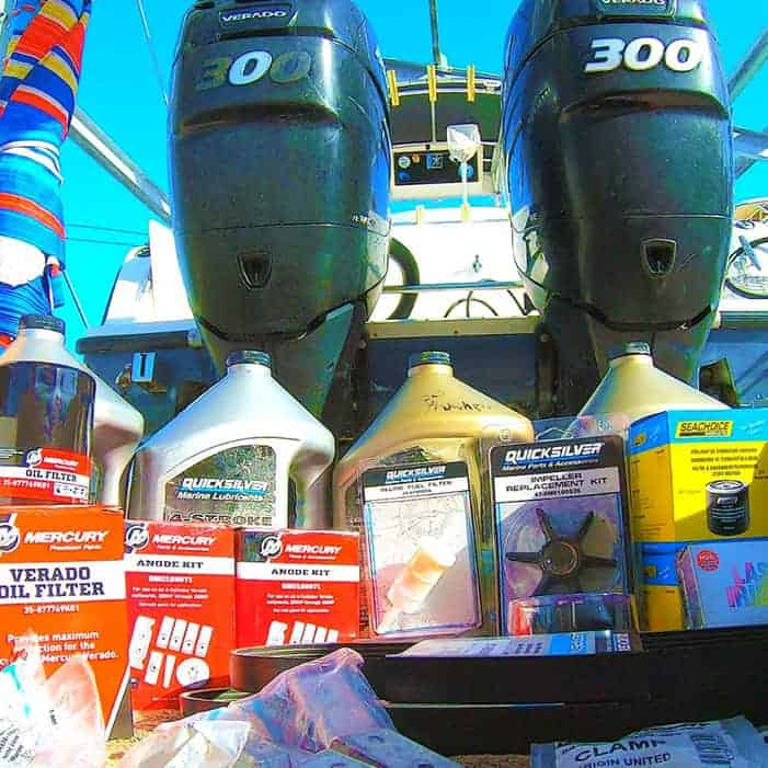 Outboard Service Cost & Items
