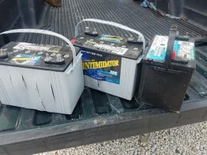 Deep Cycle Batteries In A boat