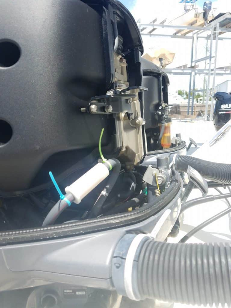 outboard fuel system