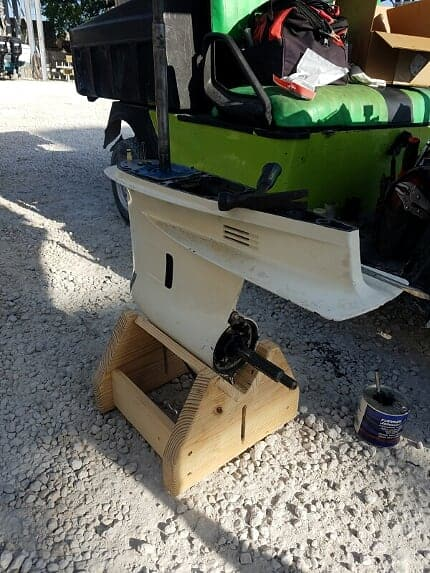 bad outboard lower unit